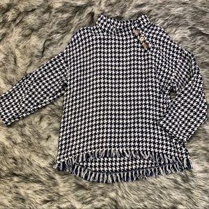 Zara woman fringe sweater  size M